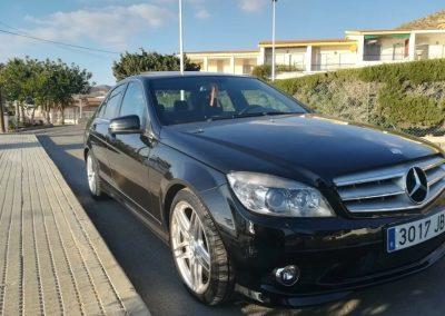 Mercedes C 220 cdi AMG negro (ref 223)