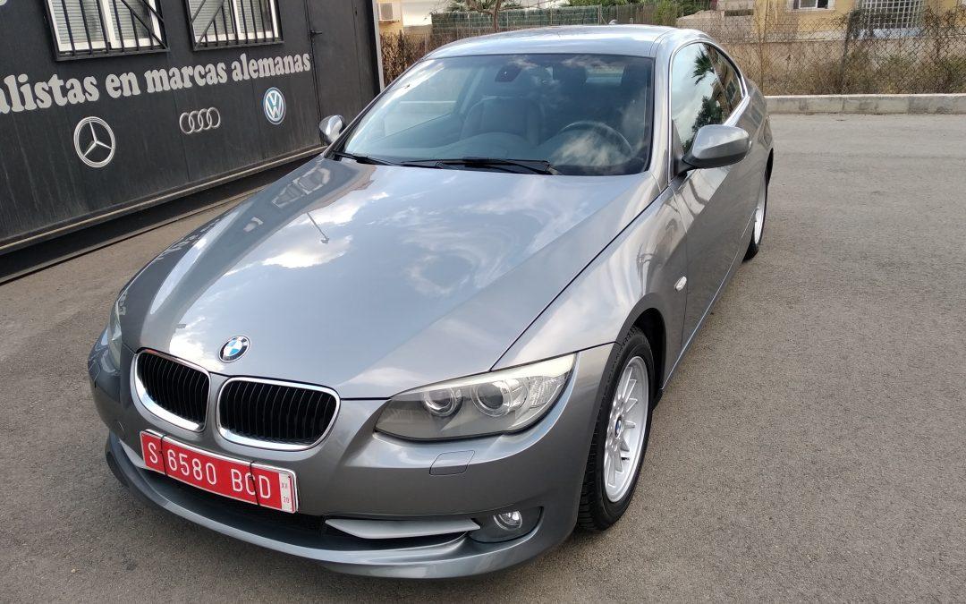 BMW 320 D Coupé restyling facelift 2010